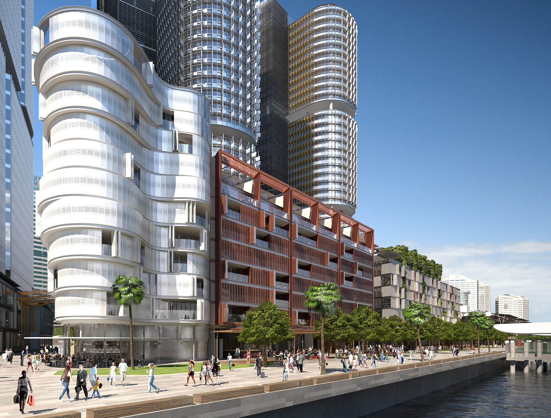 Cool Apartment Buildings. Richard Francis Jones designed apartment building at Barangaroo South apartments attract strong buyer interest  The MP Report