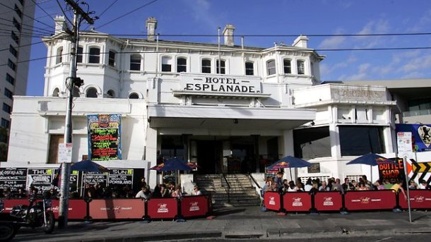In a strong nod to the residential market, the owners of St Kilda's Esplanade Hotel are understood to being considering offers for the freehold of the hotel. Picture: Joe Mann Source: TheAustralian
