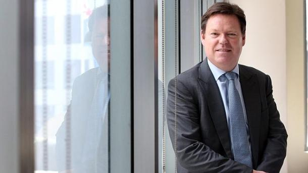 Lend Lease chief executive Steve McCann in Sydney yesterday. 'Our development business is in a strong position to leverage positive trends'. Picture: James Croucher Source: News Corp Australia