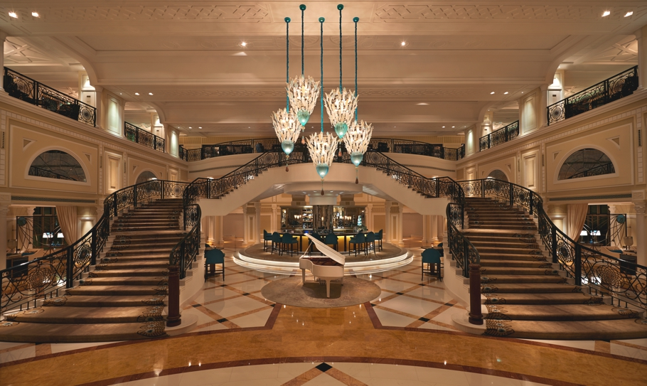 Luxury interior design for waldorf astoria ras al khaimah for Luxury hotel room interior design